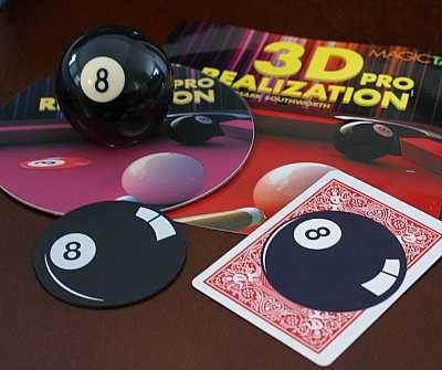 3D Realization Pro-- billiard ball production (8-ball) - The Magic