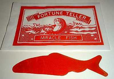 Fortune telling fish 36 of em the magic gadget site for Fortune teller fish